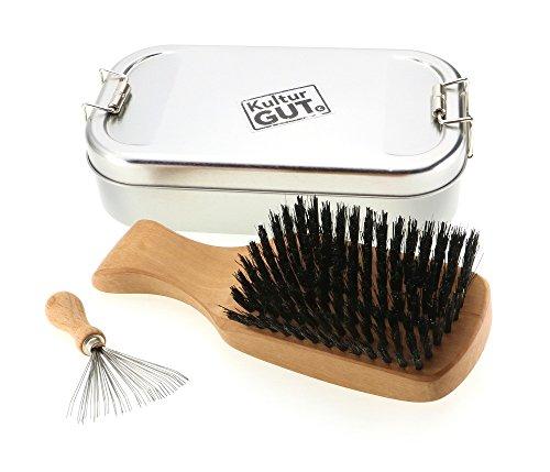 exclusivo-cepillo-para-hombre-hecho-de-peral-con-cerdas-de-jabali-incluyendo-limpiador-de-peine-con-