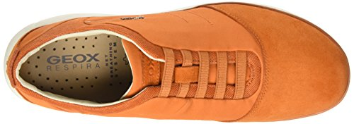 Geox U Nebula B, Scarpe Low-Top Uomo Arancione (Orange C2008)