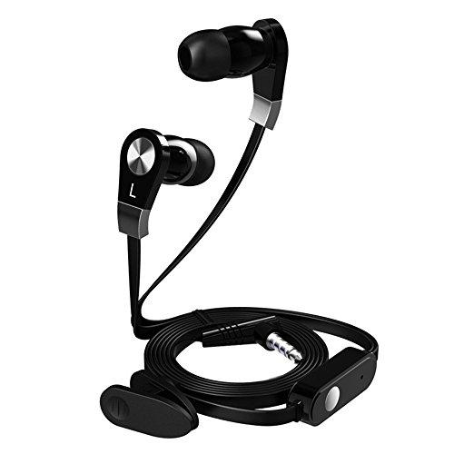 qianfuyin JM02 Noodle Line Subwoofer MP3 Universal In-Ear-Kopfhörer (Der Klang Der Musik Kostüme)