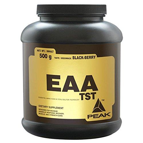 Peak-EAA-TST-essentielle-Aminosuren-500-gr-Pulver-Geschmack-Black-Cherry