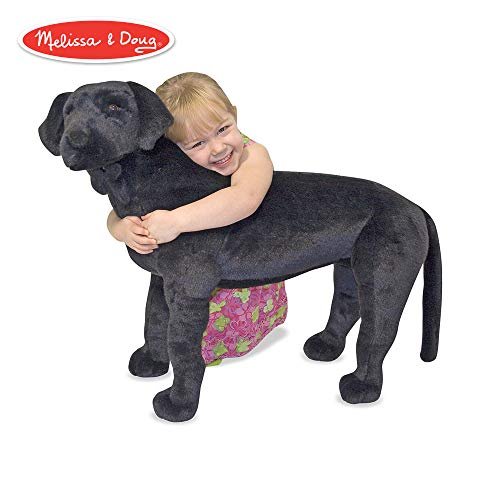 Melissa & Doug 12117 Schwarzer Labrador, Mehrfarbig