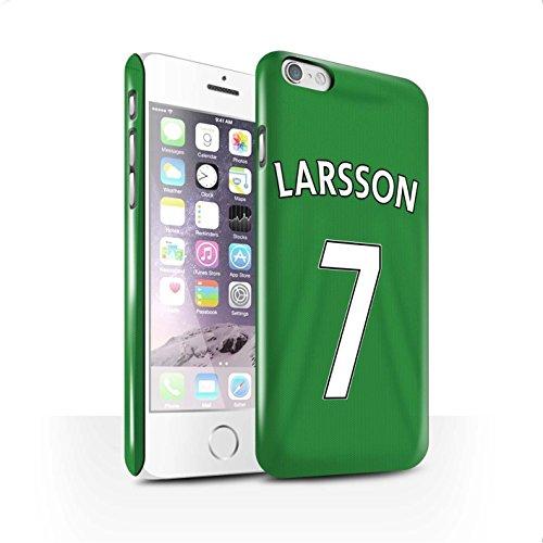 Offiziell Sunderland AFC Hülle / Glanz Snap-On Case für Apple iPhone 6 / Pack 24pcs Muster / SAFC Trikot Away 15/16 Kollektion Larsson