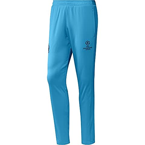 adidas Olympique Marseille Pantalon Homme, Om Blue/Black, FR : M (Taille Fabricant : M)