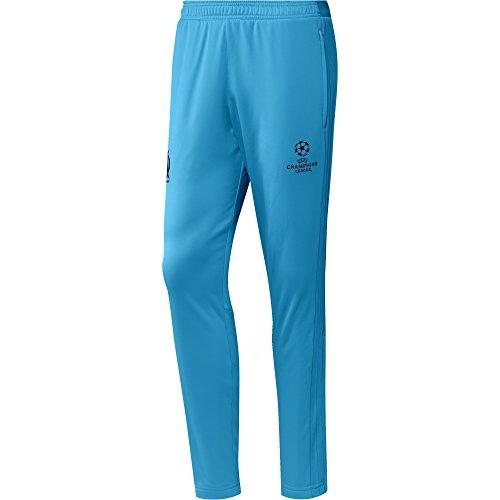 Adidas Om Eu Trg Pnt Olympique de Marsella Pantalone Blu (OmBlu/Nero)