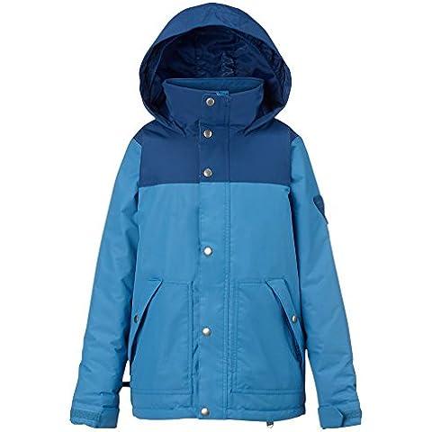 Burton giacca da snowboard da ragazzo Fray Jacket, Ragazzo, Snowboardjacke FRAY JACKET, Boro/Glacier Blue, XS