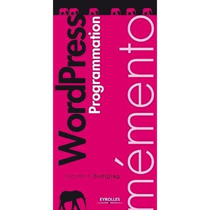 Mémento - WordPress, programmation
