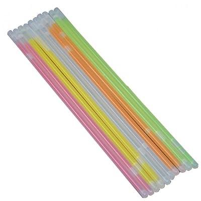 Knicklichter 50 Stück Silvester Party Armband in verschiedenen Farben + Verbindungsstück NEU OVP