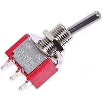 Kmise rosso AC 125V/ a 250V/ a on/On SPDT Guitar