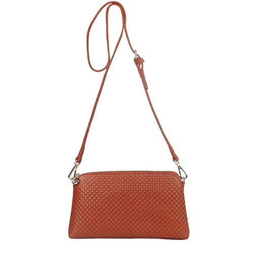 Yy.f Primo Strato Di Messenger Bag In Pelle Borse Moda Nuova Cuoio Delle Signore Sacchetto Di Spalla Borsa Di Marea. Multicolore A