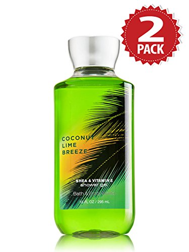 Bath & Body Works Duschgel 2er Pack - Coconut Lime Breeze (2x295ml)