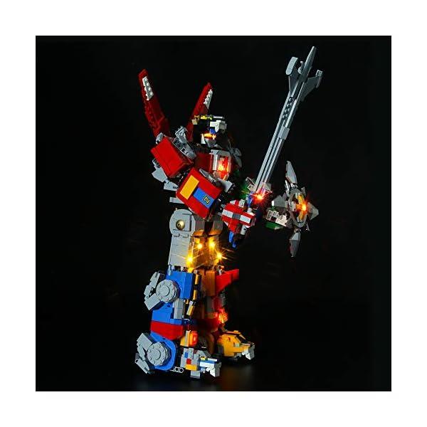 LIGHTAILING Set di Luci per (Ideas Voltron) Modello da Costruire - Kit Luce LED Compatibile con Lego 21311 (Non Incluso… 5 spesavip