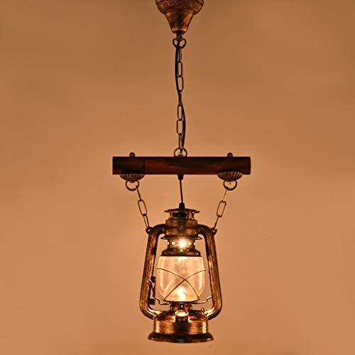 Pendelleuchte Kronleuchter Lampe Retro Eisen Single Head Nostalgic Horse Lichter personalisierte Bar Lichter Tee Stehlampe Gang Lichter Balkon Lichter. -