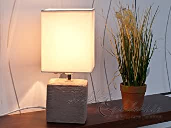 Lampe de Table / de Chevet Brun / Nature 1/5/837