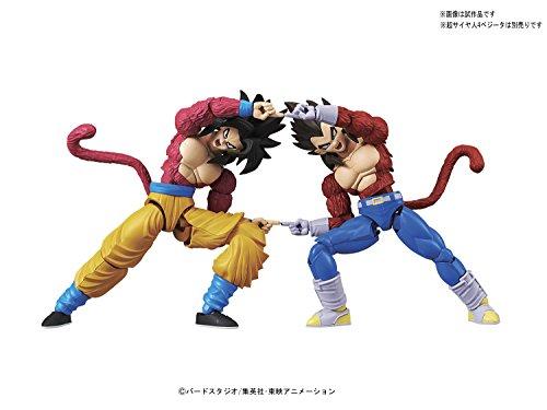 Bandai Hobby-Son Goku Super Saiyan 4 Model Kit 14 cm Dragon Ball GT Figure-Rise Standard 84086P (BDHDB144977) 5