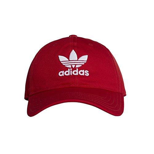 adidas Erwachsene Trefoil Classic Kappe, Collegiate Red/White, OSFM