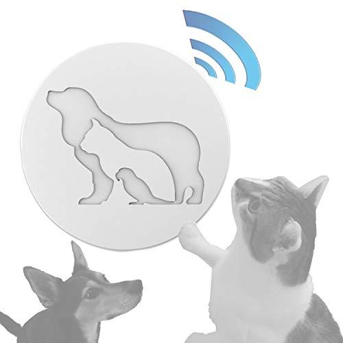 solidBASIC Hunde Tier Klingelknopf | Wireless Funk Türklingel-Knopf | Erweiterung Türklingel -...