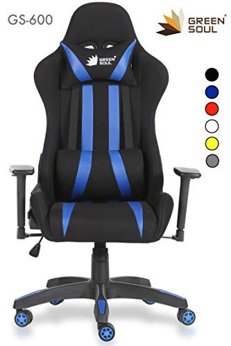 Green Soul Fabric and PU Leather Beast Gaming Ergonomic Chair...