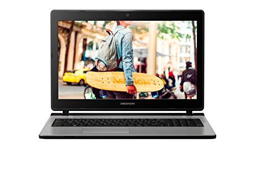 MEDION E6435 29,5 cm (15,6 Zoll HD) Notebook (Intel Pentium 4415U, 8GB DDR4 RAM, 1,5TB HDD, Intel HD Grafik, DVD, Win 10 Home)