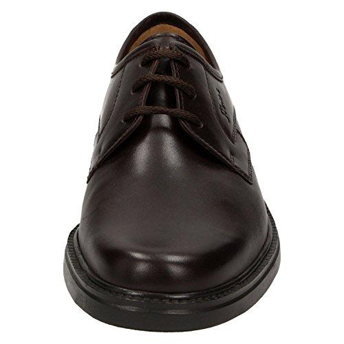 Sioux 26303, Scarpe stringate uomo Marrone marrone Marrone (marrone)