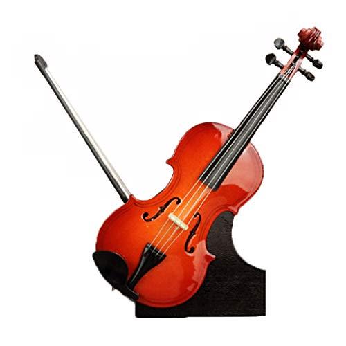 Caja de música Guitarra Caja de música de Madera Caja de música de violín Regalo Creativo (Size : Violin B)