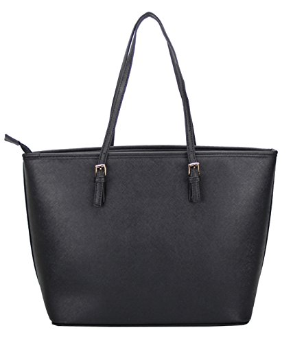LI&HI Damen fashion elegant Leder Beutel shopper bag Umhängetaschen Schulterbeutel Abendtaschen Clutch - 3