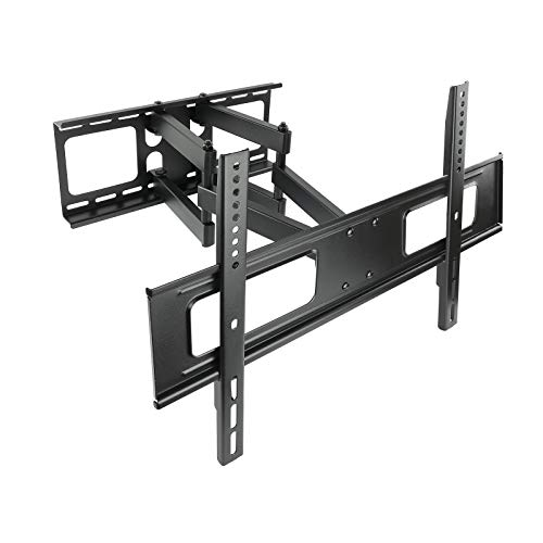 TooQ LP6270TN-B - Soporte fijo inclinable y giratorio de pared para monitor/TV/LED de 37