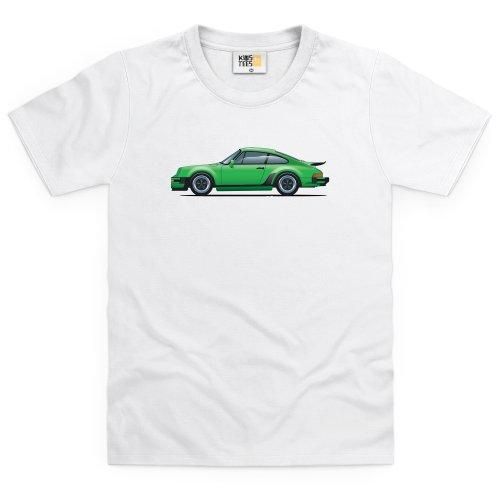 general-tee-nine-eleven-sports-car-t-shirt-bimbi-bimbi-bianco-s