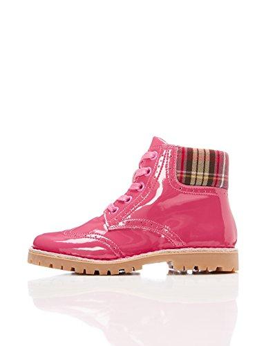 RED WAGON Mädchen Stiefel in Lack-Optik, Pink (Pink), 32 EU (Stiefeln Mädchen In)