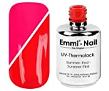 Emmi-Nail UV-Thermolack Summer Red - Summer Pink, 15 ml
