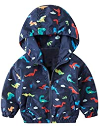 Outtop(TM) Baby-Boys' Child Jacket Dinosaur Outerwear Coat Hooded Clothing