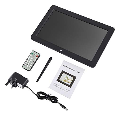 ghfcffdghrdshdfh 12in HD TFT LED Muitifunctional Digital Picture Frame with Wireless Remote