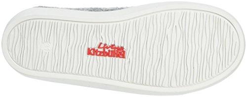 Living Kitzbühel Unisex-Kinder Slip-On Gummi & Canvassohle Flache Hausschuhe Grau (Grau 610)