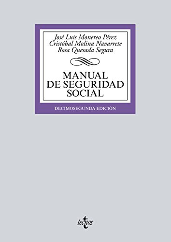 Manual de Seguridad Social (Derecho - Biblioteca Universitaria De Editorial Tecnos)