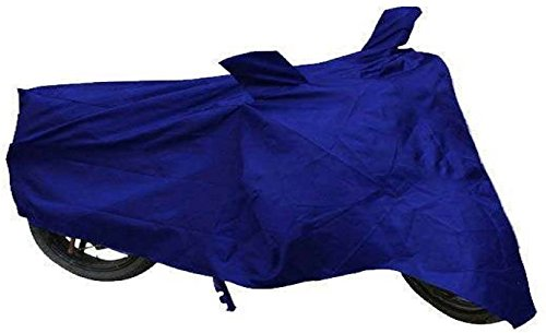harv blue bike body cover tvs scooty pep+  available at amazon for Rs.298