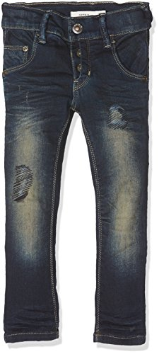 NAME IT Baby-Jungen Jeans Nittobo Dnm Xsl/Xsl Pant Nmt Noos, Blau (Dark Blue Denim), 92