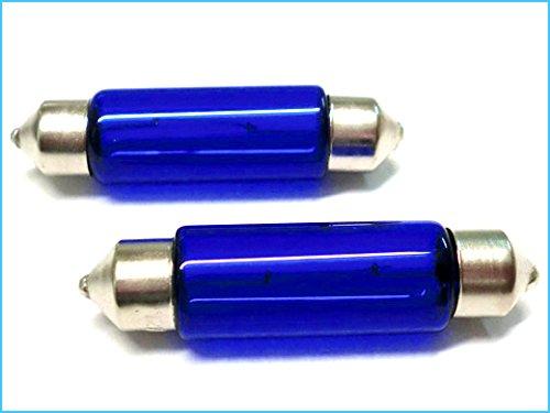 Lampada T11 C10W 41mm SV8.5 12V 10W Siluro Con Effetto Xenon Super Bianco
