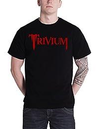 Trivium T Shirt Oni Sword Band Logo Official Mens Black