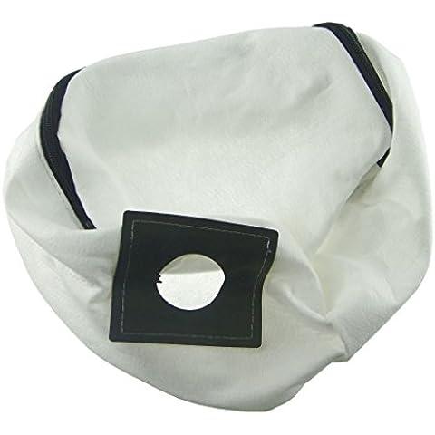 Numatic Ufixt® NSR-200A, NVH-180, NVH-200, NVP-180, NVP-200, NVR-200, NVR200 e PSP-200A paño reutilizable lavable aspirador bolsa de polvo con cierre de