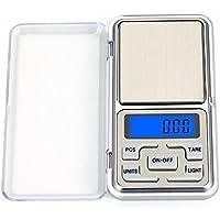 Hoosiwee Digitale Bilancia 100g 0.01g, Digital Pocket Bilancia, Bilance per Tascabili, Bilance per Gioielli, Funzione Tara