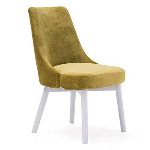 ERRU-Chaises Nordic repas Massifs Chaises Salon Loisirs Bureau Canapé d'extérieur Chaise de jardin(46.5 * 49 * 83cm, couleur en option) (Couleur : Vert, taille : 6 Pieces)