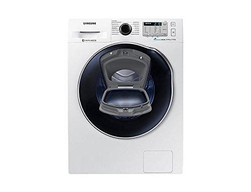 Samsung WD8XK5A03OW/EG lavasciuga Caricamento frontale Libera installazione Bianco A