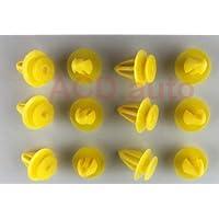 ACD.Clip 7M0867299K 30x embellecedores de nailon de panel de puerta interior