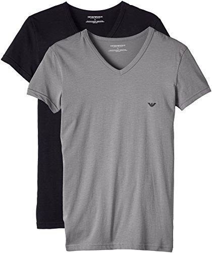 b83ac541bac Emporio Armani CC717-111512 - T-shirt - Uni - Manches courtes - Homme