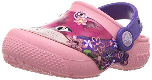 crocs Fun Lab Clog Kids, Unisex - Kinder Clogs, Pink (Peony Pink), 29/30 EU