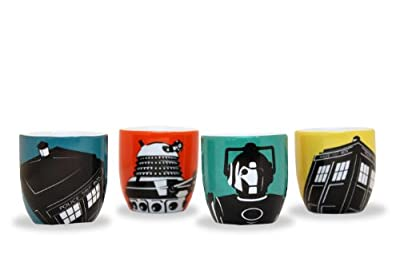 BBC Worldwide Dr Who - Caractère Egg Cup Set