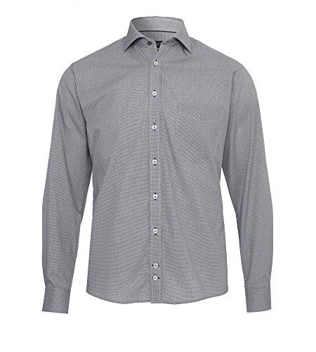 Michaelax-Fashion-Trade -  Camicia classiche  - Basic - Classico  - Maniche lunghe  - Uomo Uni Anthrazit (740)