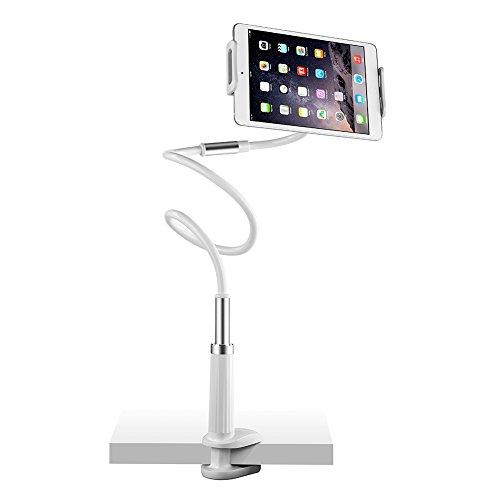 UGREEN Porta Telefono e Tablet, Modello Aggiornato con Braccio da 120CM in Lega di Alluminio e Rotazione di 360 Gradi Supporta da 3.7 '' a 10.6 '' Incluso iPad, Samsung Tablet, Nintendo Switch, iPhone X/ 8/ 8Plus, Samsung S9/ S9+/ S8/ S8+, Huawei P20/ P20 Lite, ecc.