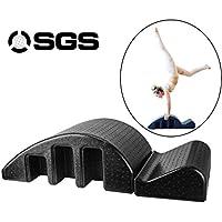 Pilates Spine Yoga Pilates extraíble cama de masaje arco, yoga espuma de Pilates Mat fitness, Pilates La enderezadora for la corrección de la deformidad espinal cervical, dolor de espalda Alivio Equip