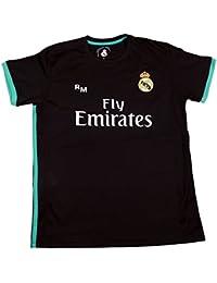 Camiseta Segunda Equipación Replica Oficial Real Madrid Dorsal Sergio Ramos  (Talla ... cb3a3b45aedbf