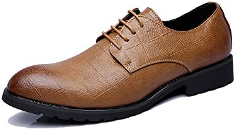 Men's Business Business Business Casual Retro Classic Fashion Oxford Hot Style Scarpe Stile Britannico a Punta,Scarpe Uomo Pelle... | Prestazione eccellente  432b1b